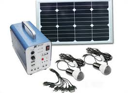 Solar Home Lighting System - off grid solar home lighting system