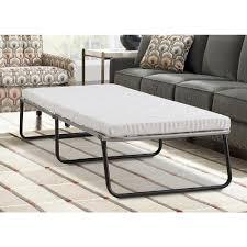 fold away furniture lane twin steel single guest foldaway bed imcel033s the home depot