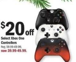 select xbox one controllers 20 at meijer thanksgiving on