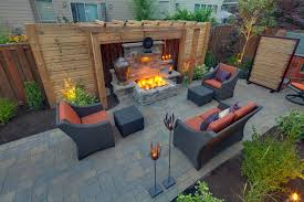 Belgard Brighton Fireplace by Impressive Decorative Outdoor Lighting Decorating Ideas Images In