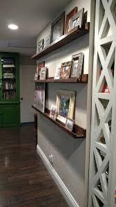 Wooden Gallery Shelf by