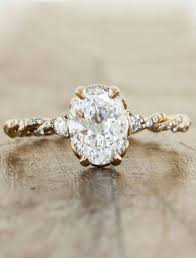 gold vintage engagement rings gold vintage oval engagement rings wedding decorate ideas in