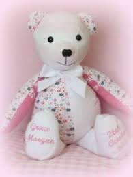 remembrance teddy bears it s always an honour to work on memory bears i try to put as