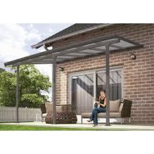 Lexan Awnings 10 U0027 X 28 U0027 Feria 4200 Patio Cover Canopy W Polycarbonate Panels