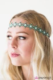 hippie hair accessories paparazzi accessories summer child blue