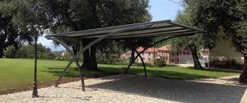 tettoia autoportante sistemi di copertura per auto parcheggi ombreggianti antigrandine