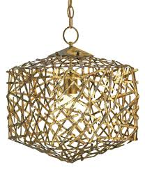 Currey Lighting Fixtures Confetti Cube Pendant Light Currey And Company
