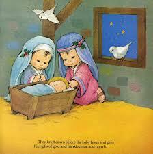 imagenes de virgen maria infantiles la virgen maría pesebre san josé y el niño pintura pinterest