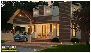 Front Elevations Of Indian Economy Houses by Single Floor House Designs Kerala House Planner