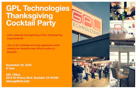 thanksgiving november 22 gpl thanksgiving cocktail party tickets tue nov 22 2016 at 5 00