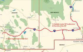 Bisbee Arizona Map by Winter 2017 Plein Air Journey