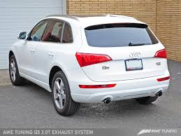 audi q5 performance parts awe tuning audi q5 2 0t exhaust suite awe tuning