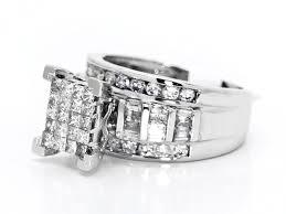 cinderella engagement ring white gold princess cut diamond cinderella bridal wedding
