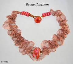 4 Ideas For Jewelry Making - mesh and nets in jewelry making tutorials and inspiration the