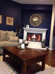 Blue And Beige Living Room Dark Blue Living Room Walls Centerfieldbar Com