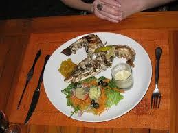 cuisine langouste plancha langouste un délice photo de restaurant la plancha grand baie