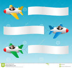 plane pulling banner clipart clipartxtras