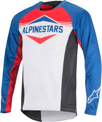 bike boots sale alpinestars mesa ls bicycle shirts bike blue red white alpinestars