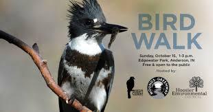 hoosier environmental councilfall bird walk