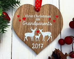 Baby Deer Christmas Decorations by Best 25 Personalised Christmas Decorations Ideas On Pinterest
