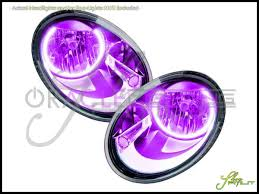 volkswagen beetle purple oracle 12 15 volkswagen beetle led halo rings headlights bulbs