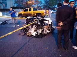 lamborghini crash lamborghini aventador split in half in brooklyn ny crash