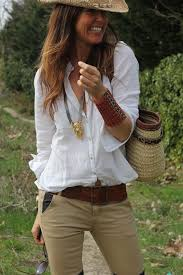 Clothes To Wear On A Safari Safari Style Love The Super Casual Pulled Together Look