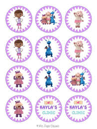 doc mcstuffins cupcake toppers 303 best doc mcstuffins images on birthday party ideas