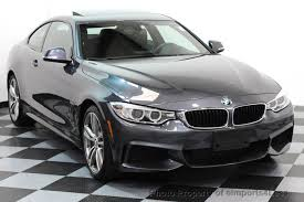 used bmw 4 series cars for sale 2014 used bmw 4 series certified 435i xdrive m sport awd coupe