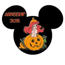 disney princess halloween clipart 13