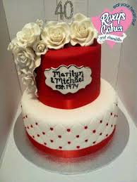 wedding quotes on cake 40th wedding anniversary cake ideas gift ideas bethmaru