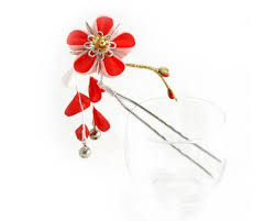 japanese hair ornaments small kanzashi japanese hair ornament kanzashi hair pin