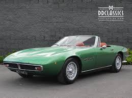 classic maserati ghibli 1971 maserati ghibli 4 9 ss spyder lhd classic driver market