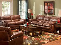 Chestnut Leather Sofa Stevens Contemporary Leather Living Room Collection Design Tips