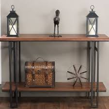 industrial console u0026 sofa tables you u0027ll love wayfair