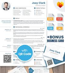 Resume Template Business Analyst Joey Clark Business Analyst And Financial Consultant Resume