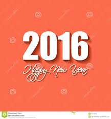 happy newyear cards vector modern simple happy new year card 2016 stock illustration