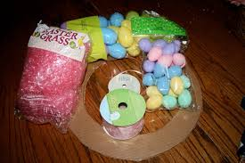 how to make an easter egg wreath how to make a plastic easter egg wreath any