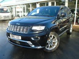 used jeep cherokee for sale used 2015 jeep grand cherokee v6 crd 3 0 summit for sale in