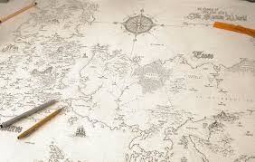 world map image drawing no spoilers i spent the last 3 weeks drawing this world map