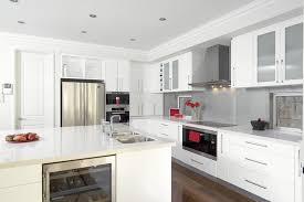 White Kitchen Cabinet Design Ideas by 30 Modern White Kitchen Design Ideas And Inspiration Modern