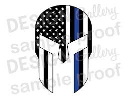 Iron On American Flag American Flag Gladiator Jpg Svg Dxf Thin Blue Line Mask