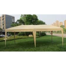 how many tables fit under a 10x20 tent mcombo 6051 1012y tan 10x20 ft easy pop up wedding canopy party tent