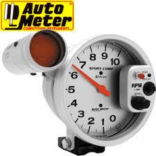 auto meter sport comp silver 5
