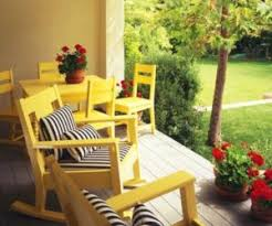 Yellow Patio Furniture Yellow Kitchen With Backsplash Patio - Yellow patio furniture
