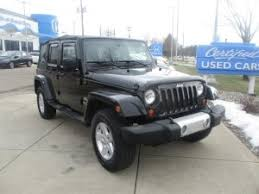Used Jeep Wrangler Unlimited Used Jeep Wrangler Unlimited For Sale In Grand Blanc Mi Al