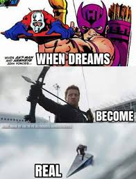 Hawkeye Meme - who do you think will die in civil war meme by snowman007