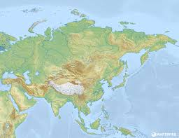 Blank Map Of Europe And Asia by Free Physical Maps Of Asia U2013 Mapswire Com