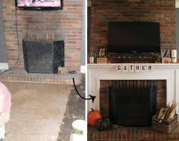 Mounting Tv Over Brick Fireplace by 30 Best Fireplaces Inspiration Images On Pinterest Fireplace