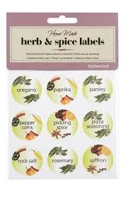 basic spice labels u2013 craftbnb